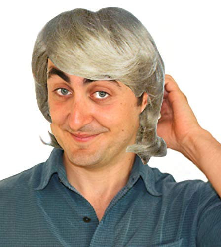 Kristoff Bjorgman Deluxe Frozen Inspired Blond Men's and Boy's Costume Wig - http://coolthings.us