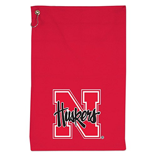 - NCAA Nebraska Cornhuskers Colored Sports Towel