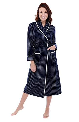 Alexander Del Rossa Womens Cotton Robe bb945e8c8