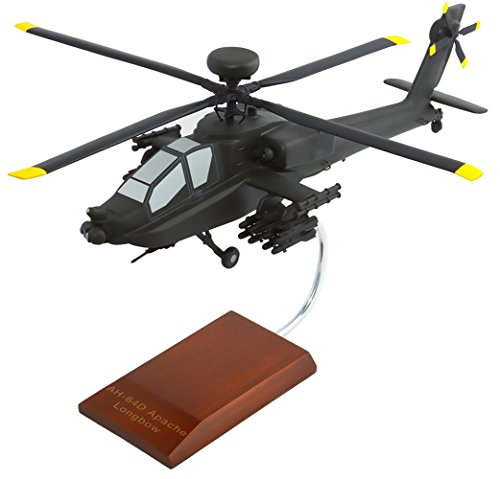 Mastercraft Collection Boeing AH-64 Apache Longbow Atack Helicopter United States Army Model Scale:1/32 (Apache Ah 64 Longbow)