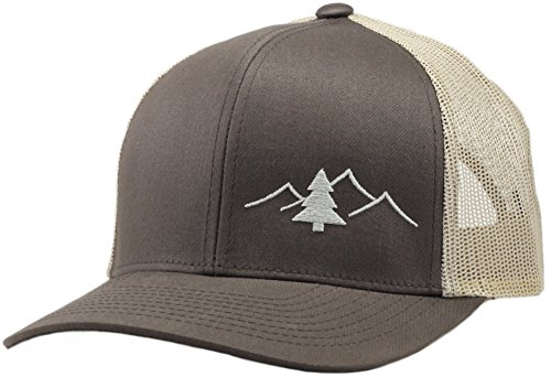 Lindo Trucker Hat - Great Outdoors Collection - by (Brown Tan ... 68d7e8e9a2a