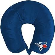 The Northwest Company MLB Toronto Blue Jays Applique Neck Pillow, Travel Pillow, One Size