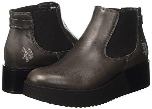 dark Stivali Leather polo Donna Sapphire Assn Grigio Chelsea U Grey s qUwBzxzpP