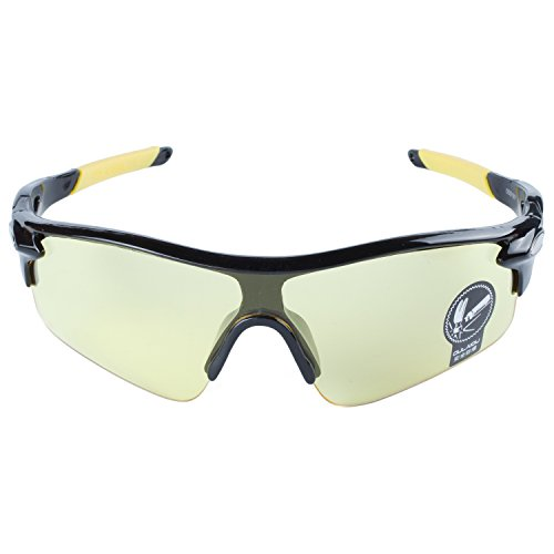 Ciclismo Negro Pesca Sol Libre Gafas Aire Deportes Al De Amarillo De Amarillo Moda Conducción Lentes Montatura Gafas Bicicleta Para ANVEY Gafas 6z8qXan6