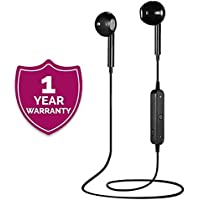 Mobixa S6 Bluetooth Headset with Mic & 360 Degree Surround Sound for All Latest Android/iOS Device