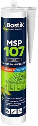 MSP 107 Bonding and Sealing Sealant, Black, 290 ml Cartridge