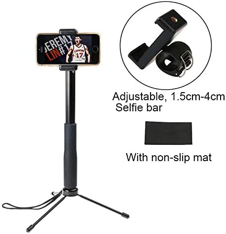 for MOBILEACCESSORIES TL 30-93cm Grip Foldable Tripod Holder Multi-Functional Selfie Stick Monopod for GoPro HERO5 Session//Phone//Xiaoyi Sport Cameras Sports Camera