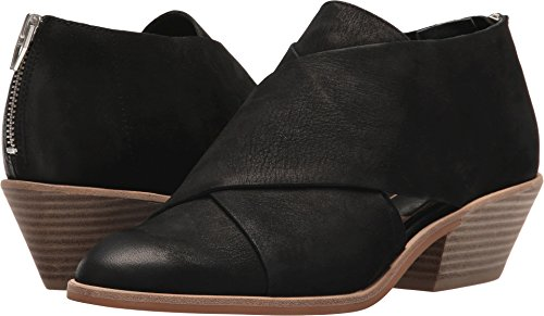 Dolce Vita Women's Loida Ankle Boot, Black Nubuck, 7.5 M US by Dolce Vita