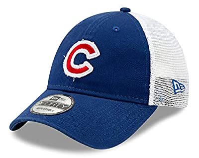 New Era Chicago Cubs 9Forty MLB Team Truckered Adjustable Meshback Hat