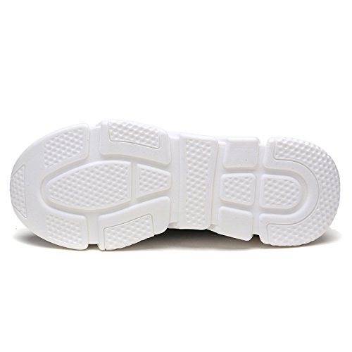 DREAM PAIRS Neue Mode Damen Lady Easy Walk Slip-On Leichte Freizeit Comfort Loafer Schuhe Turnschuhe 170844-schwarz D.grey