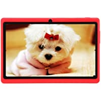 7 Tablet PC - TOOGOO(R)7 HD Touch screen Android 4.4 Quad Core Dual Camera Tablet PC Red