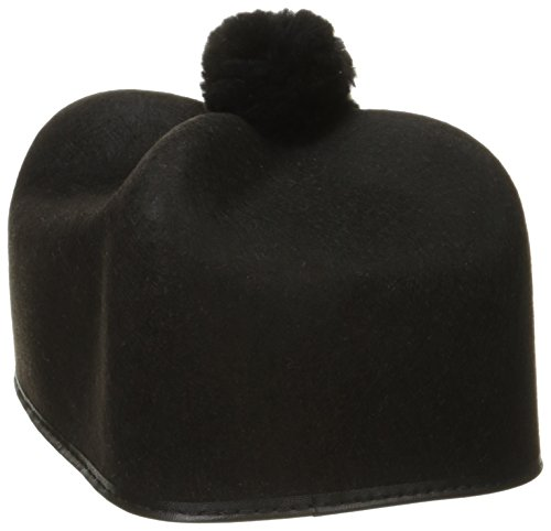 Jacobson Hat Company Men's Permafelt Priest Hat, Black, Adult-7 1/4 - Priest Hat Costume