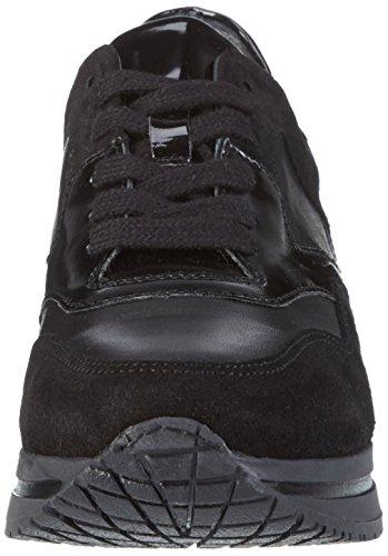 D1011 D1011 Sneaker HIP 10co Ac HIP basse Nero Nero Schwarz Donna Sneaker Schwarz Donna basse 0qABpI
