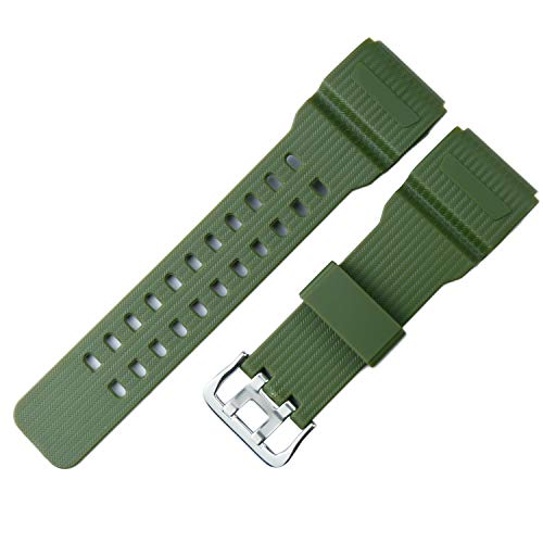 KHZBS g Shock Replacement for Casio gg1000 mudmaster Strap GWG100 GSG100 Band for Men