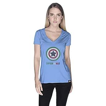 Creo T-Shirt For Women - Xl, Blue