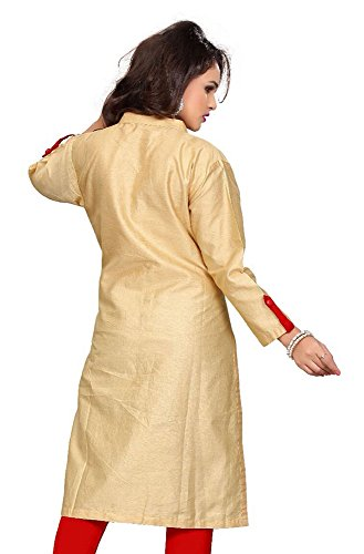 Top Couleur Femmes De Soie Coton Plaine Tissu Travail Bouton Tunique Jayayamala tunique Décontractée Rouge HqPwCz
