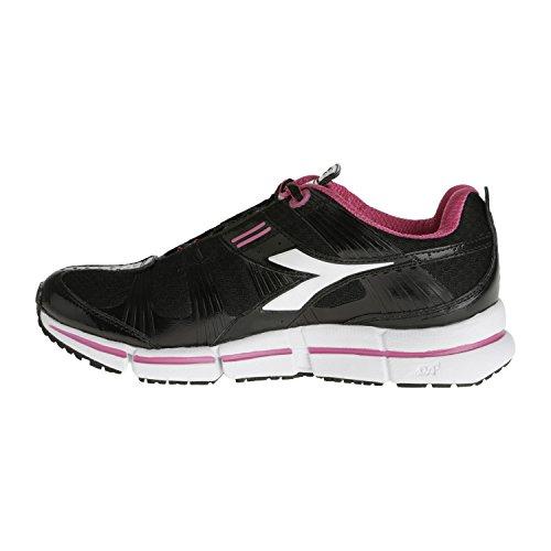 Diadora - Diadora Women's Running Shoes Black N-5100 W net breathing system Black LmxgFrdbgo