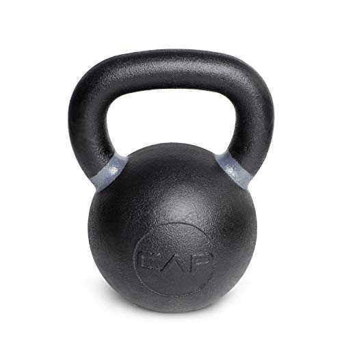 CAP Barbell Cast Iron Competition Kettlebell Weight, 44 Pound, Black/Dark Gray