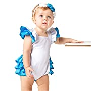 Sequin Alley Alice in Wonderland Costume Little Girls, Baby Romper First Birthday Outfit Dress up