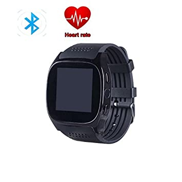 Hangang Bluetooth Smart Watch Black, TOP-MAX T8 M Fitness Tracker ...