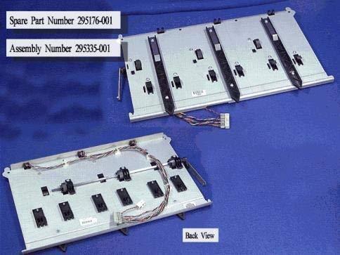 Sparepart: HP GUIDE,MAGZINE W/CABLE&SENSORS, 295176-001