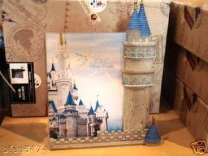 Walt disney world castle picture frame