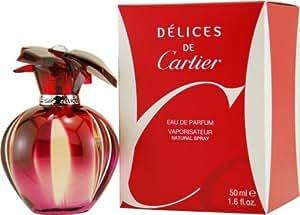 Amazon.com : Delices De Cartier By Cartier For Women Eau