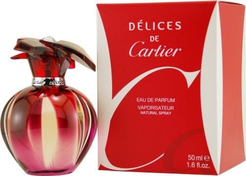 - Delices De Cartier By Cartier For Women Eau De Parfum Spray 1.6 Oz
