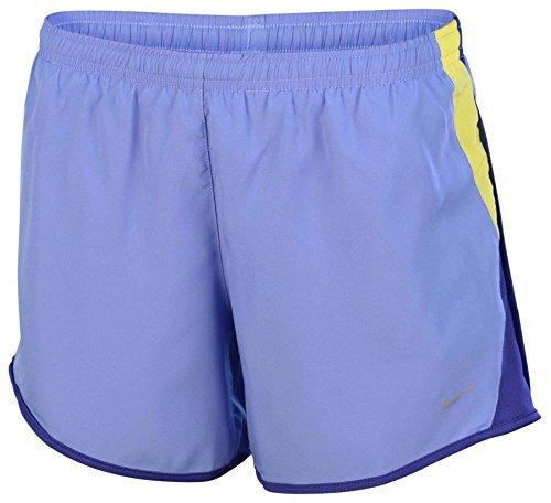 Nike Girls' (7-16) Dri-Fit 10K Tempo Running Shorts-Chalk Blue-Medium