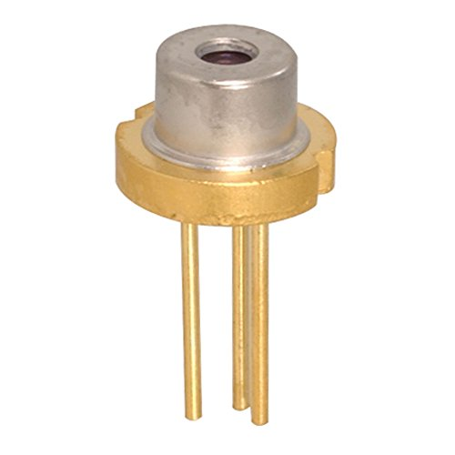 Lite On LTLD505T Laser Diode, 650nm, 2.6VDC, Algalnp, 5mW (Pack of 2)