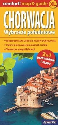 Chorwacja Wybrzeze poludniowe 2w1 Przewodnik i mapa praca zbiorowa