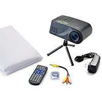 Virtual Holiday Themed Movie Projector Kit | Perfect Seasonal Indoor Digital Decor for Christmas or Halloween