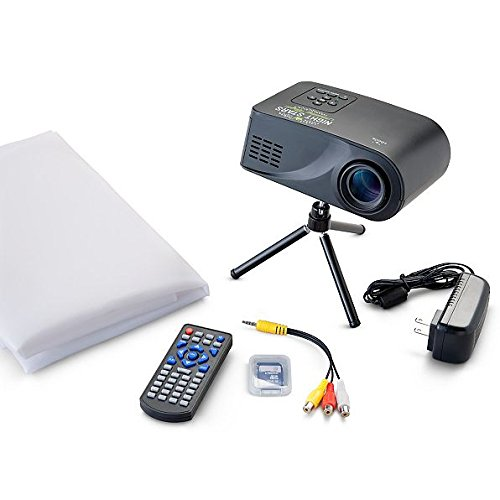 Virtual Holiday Themed Movie Projector Kit | Perfect Seasonal Indoor Digital Decor for Christmas or Halloween by Gramercy Home