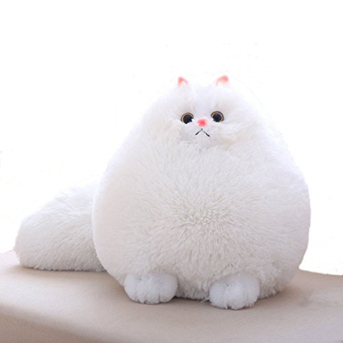 White Cat Soft Toy - 2