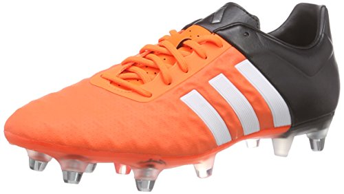 adidas Ace15.2 SG Herren Fußballschuhe Orange (Ftwr White/Core Black/Solar Orange)