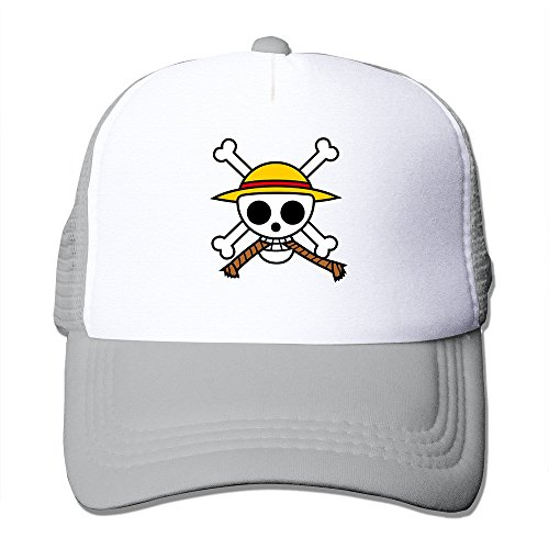 Famouse Anime One Piece Primary Logo Fashion Cool Mesh Cap Hats