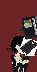 """A-type (Una Eyed Girl"""") Colorida Impresión Funda Cuero Monedero Caja Bolsa Cubierta Caja Piel Card Slots Para Samsung Galaxy S6 EDGE (NOT S6)"""