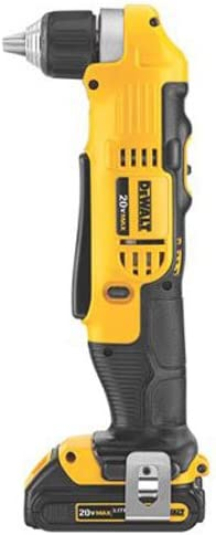 DEWALT 20V MAX Right Angle Cordless Drill Driver Kit DCD740C1