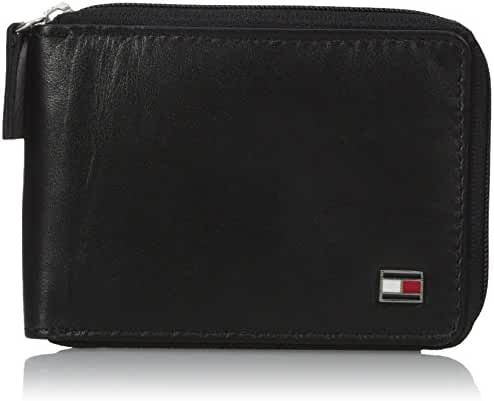 Tommy Hilfiger Men's Oxford Ziparound Wallet
