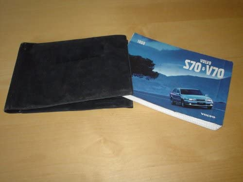 VOLVO S70 & V70 OWNERS MANUAL HANDBOOK with WALLET - 2 0 2 3 2 4 2 5