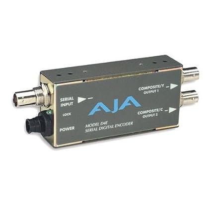 AJA D4E SDI to Composite or S-Video Transcoder