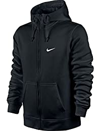 Men's Club Swoosh Full Zip Fleece Hoodie