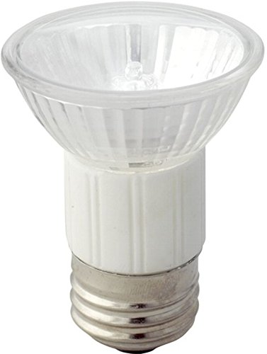 EiKO 10453 Model JDR75/FL Halogen Flood Bulb, 120 Voltage Rating, 75 Watts, Medium Screw (E26) Base, MR16 Bulb, CC-8 Filament, 2.84
