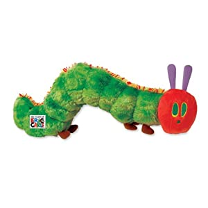 World of Eric Carle, Very Hungry Caterpillar Plush - 41wWoUQeNdL - World of Eric Carle, The Very Hungry Caterpillar Plush