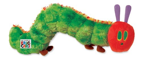 - The World of Eric Carle, The Very Hungry Caterpillar Large Stuffed Animal, 12