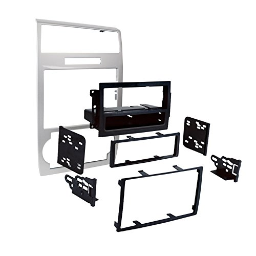 Metra 99-6519S Single/Double DIN Dash Installation Kit for Select 2005-07 Dodge Charger/Magnum ()