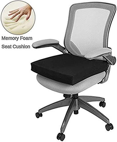 Big Hippo Seat Cushion for Back Sciatica and Tailbone Pain Relief-Memory Foam Chair Seat Cushion Pad for Wheelchair Office & Car / Big Hippo Seat Cushion for Back Sciatica and Tailbone Pain Relief-Memory Foam Chair Seat Cushion Pad...