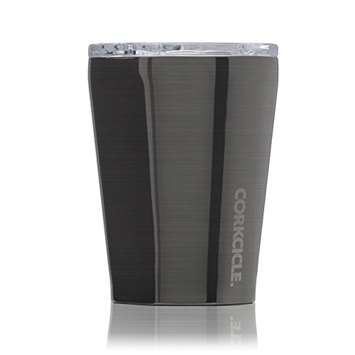 Corkcicle 12 oz Triple-Insulated Tumbler (Perfect for Coffee - Cocktails - Tea) - Gunmetal