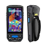 MUNBYN 3G 4G Rugged Handheld Android 7.0 POS Terminal with Touch Screen BT GPS and Honeywell Barcode Scanner for 1D 2D PDF417