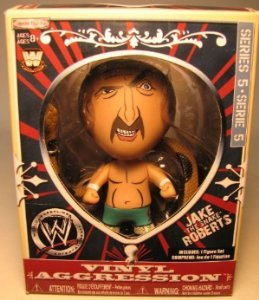 KANE - VINYL AGGRESSION 5 WWE WRESTLING ACTION FIGURE (3 TALL)